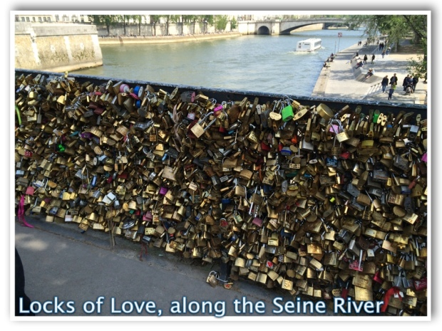 Locks of Love Bridge Paris