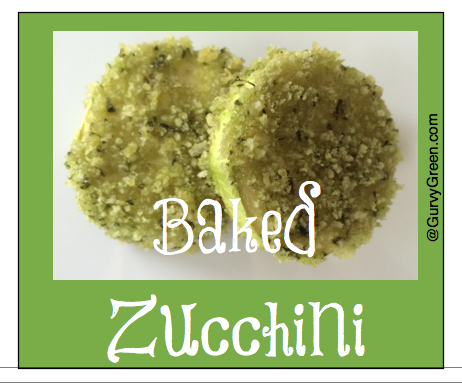 Munch on this Monday, How to make baked zucchini