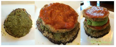 Munch on this Monday Eggplant and Mushroom Veggie Sandwich