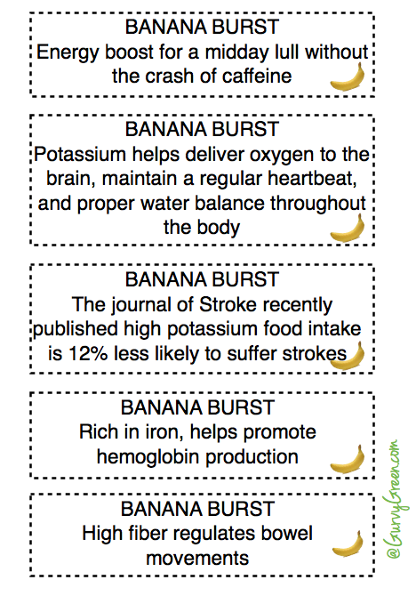 How to get your health benefits from eating bananas everyday